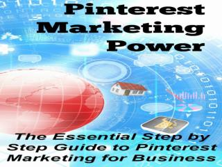 Pinterest Marketing Free Ebook