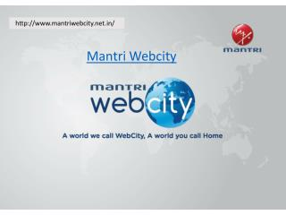 Mantri Webcity Hennur Main Road, Bangalore
