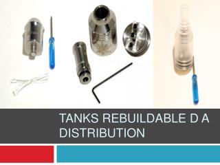 Tanks Rebuildable D A Distribution