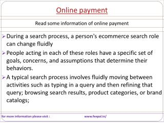Some useful material about online  payment  gateway