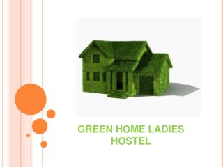 Best Ladies and women's hostel in Coimbatore