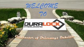 Contractor of Driveways Oakville