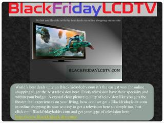 Best LCD TV Deals