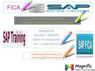 SAP FICA ONLINE TRAINING IN BANGALORE