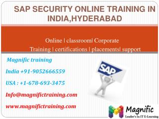 sap security online training in india,hyderabad