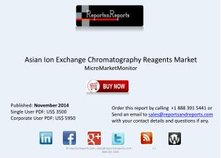 Asian Ion Exchange Chromatography Reagents Industry