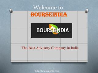 Best Advisory company in India