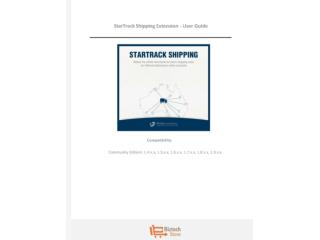 StarTrack Shipping Extension - User Guide