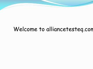 Buy Electronics Equipment from Alliance Test