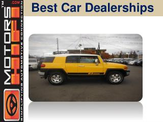 Best Car Dealerships