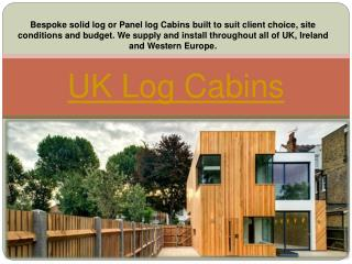 Log Cabins To Buy