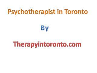 Psychotherapist in Toronto