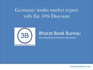 Germany inulin market report with flat 50% Discount