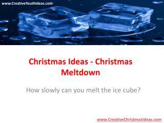 Christmas Ideas - Christmas Meltdown