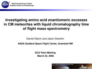 Investigating amino acid enantiomeric excesses in CM meteorites with liquid chromatography time of flight mass spectrome