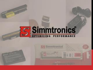 Simmtronics - First Memory Module Supplier in India
