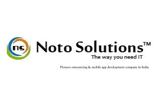 Noto Solutions- Pioneer outsourcing & mobile app development