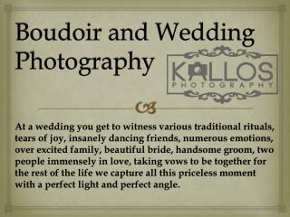 Boudoir and Wedding Photography