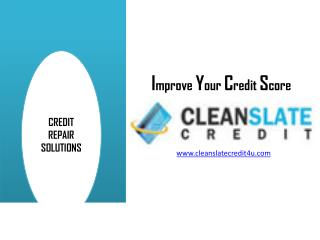 How to Repair Your Credit Score Fast