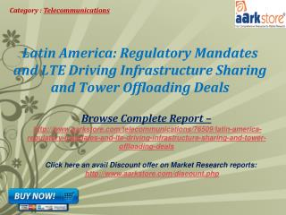 Aarkstore - Latin America: Regulatory Mandates