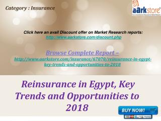 Aarkstore - Reinsurance in Egypt