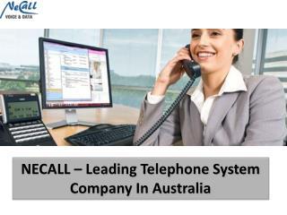 NECALL � Leading Telephone System Company In Australia