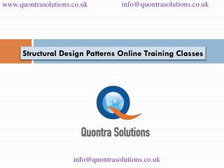 Structural design patterns by quontra solutions