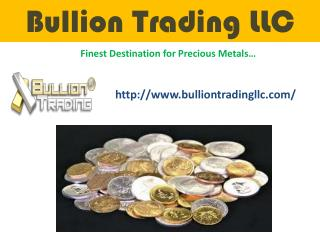 Buy Gold and Silver Online at a Competitive Price