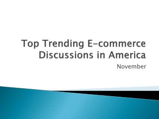 Top trending discussions in USA