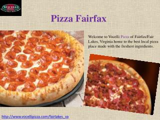 Pizza Fairfax