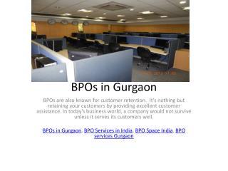BPOs in India