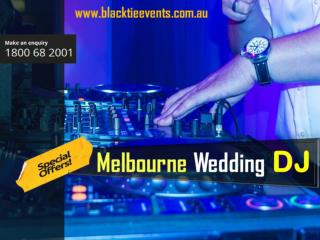 Melbourne wedding DJ
