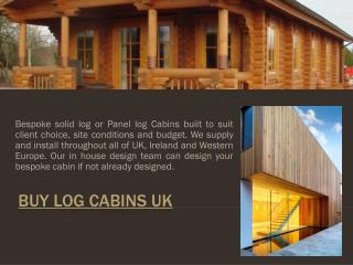 Buy Log Cabins UK