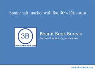 Spain: salt market with flat 50% Discount