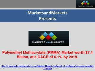 Polymethyl Methacrylate (PMMA) Market worth $7.4 Billion, at