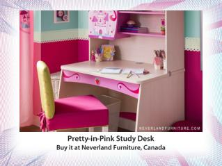 Princess Line Kids Furniture Pretty Pink Desk