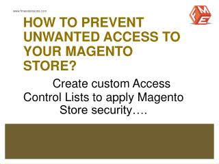 Magento GOIP Extension by FMEExtensions