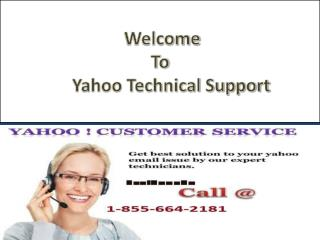 1-855-664-2181 Yahoo Password Recovery Contact Number