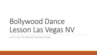 Bollywood Dance Lesson Las Vegas NV
