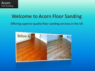 professional floor sanding in Southampton - Acorn Floor Sand