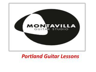 Portland Guitar Lessons - Montavillaguitarstudio.com