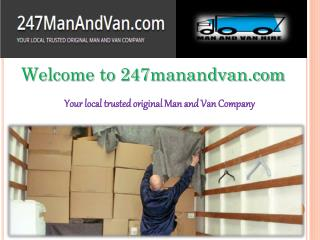 Hire Man and Van London