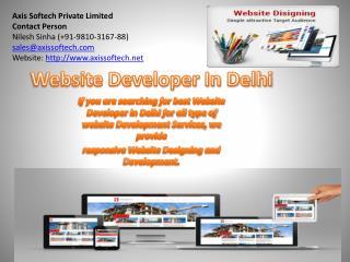 Website Developer in Delhi | Web Development Services