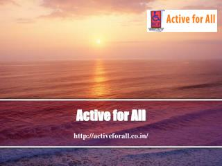 Products by Active For All