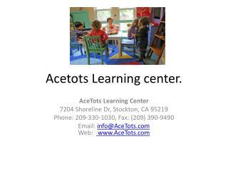 Day Care Stockton CA