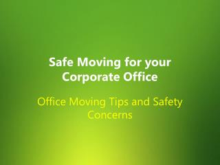 Guide to Office Moving and Relocation