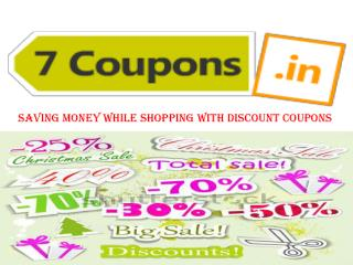 Saving Money While Shopping With Discount Coupons
