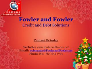 Wecome to Credit Repair Company Services