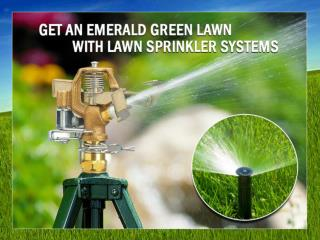 Lawn Sprinkler Systems in Plymouth Michigan