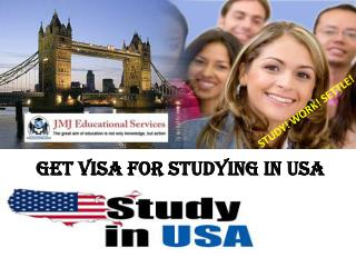 Get Visa For Studying In USA